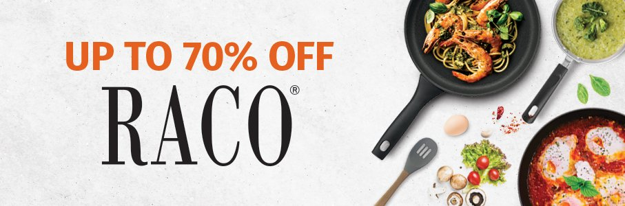 Up to 70% Off RACO