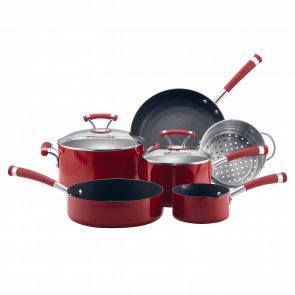 Circulon Contempo Red 6 Piece Cookware Set