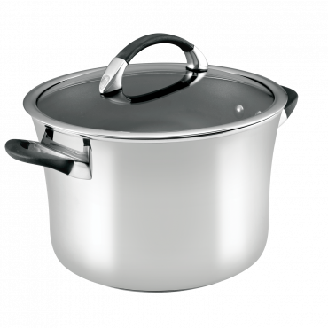 Circulon Symmetry Stainless Steel 26cm/7.8L Stockpot