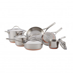 Anolon Nouvelle Copper 10 Piece Cookware Set